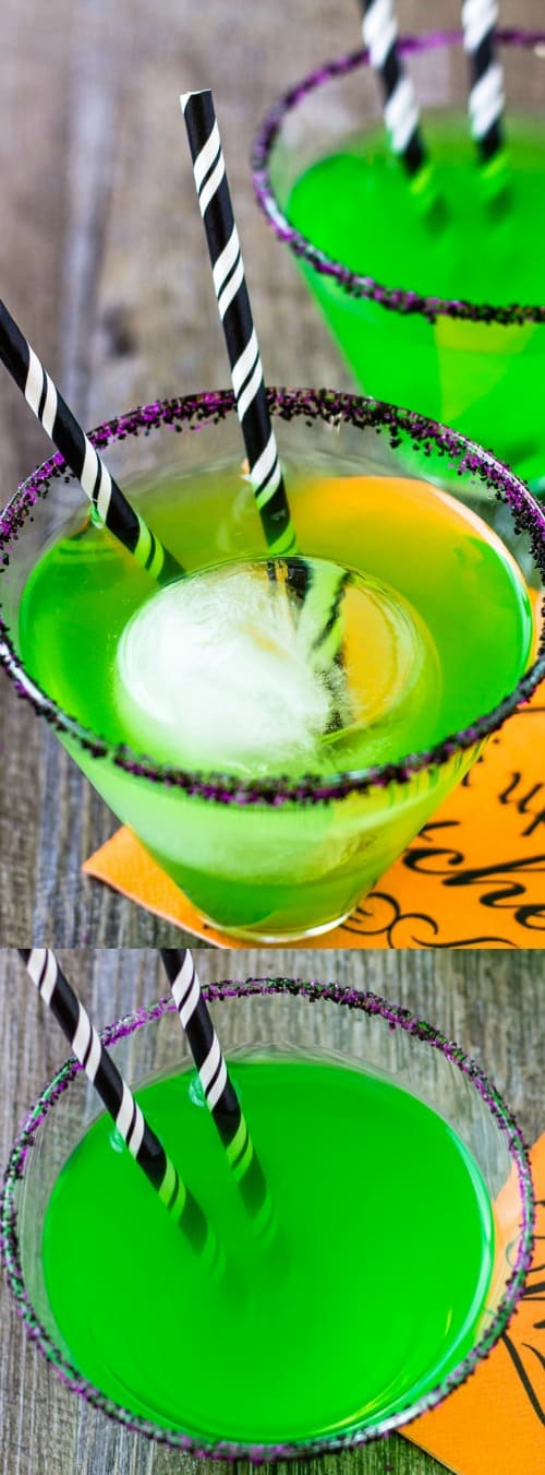 Flying Monkeys Halloween Witch Cocktail