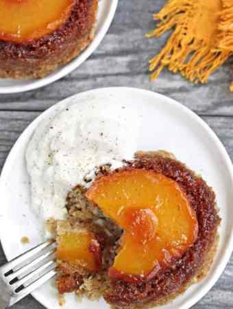 Peach Upside-Down Cakes