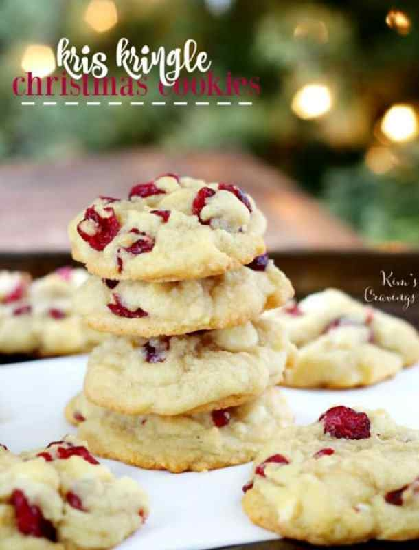 Kris Kringle Christmas Cookies -- Part of Fun and Festive Christmas Desserts
