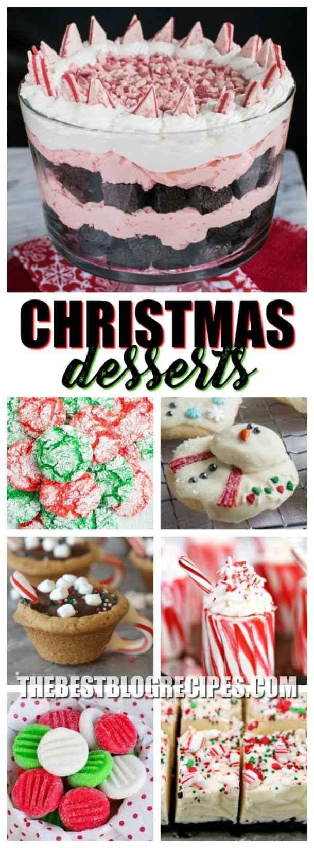 Fun Festive Christmas Desserts