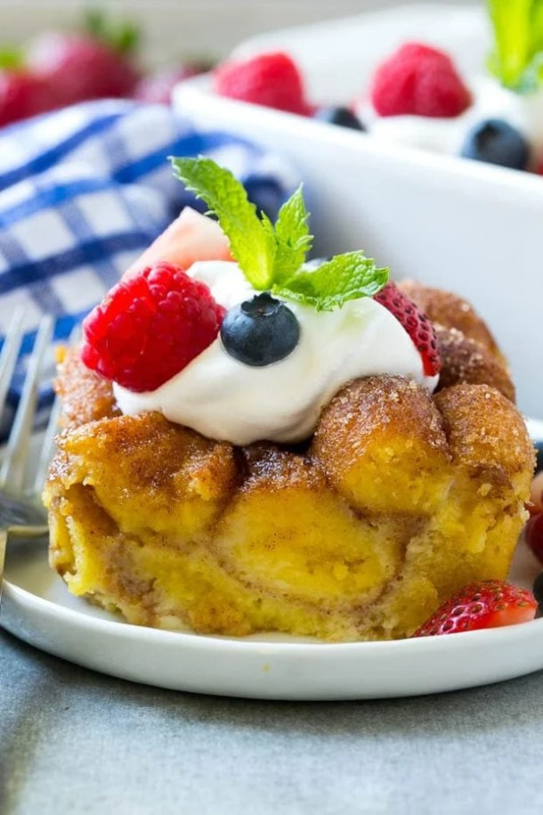 Donut Bread Pudding Recipe