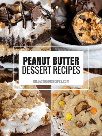 Peanut Butter Desserts that will SAVE the Day