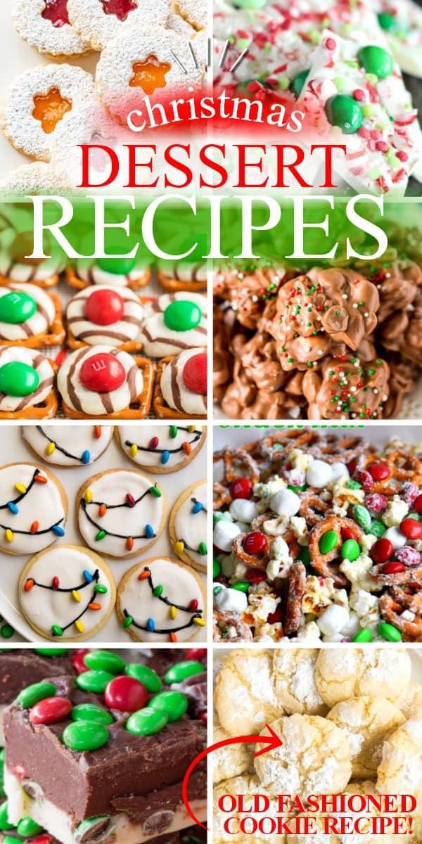 CHRISTMAS DESSERT RECIPES | 20+ EASY CHRISTMAS DESSERT RECIPES | THE BEST BLOG RECIPES