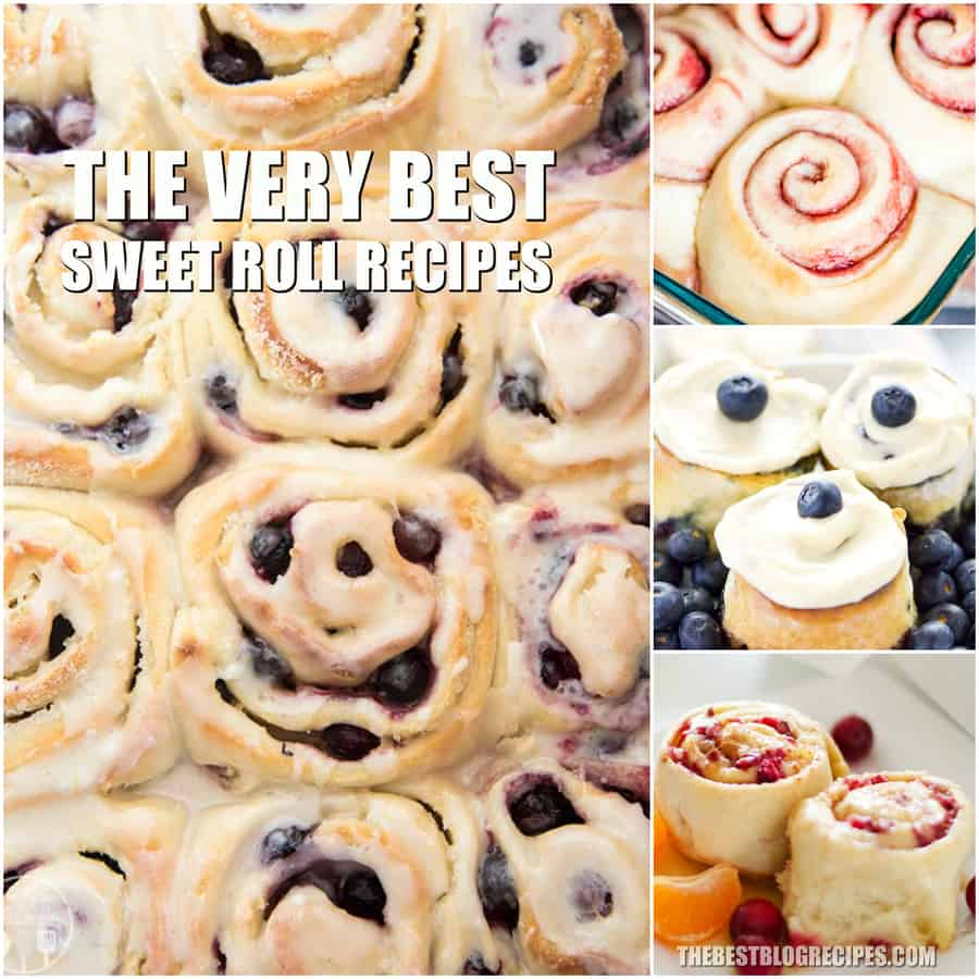 The Best Sweet Roll Recipes