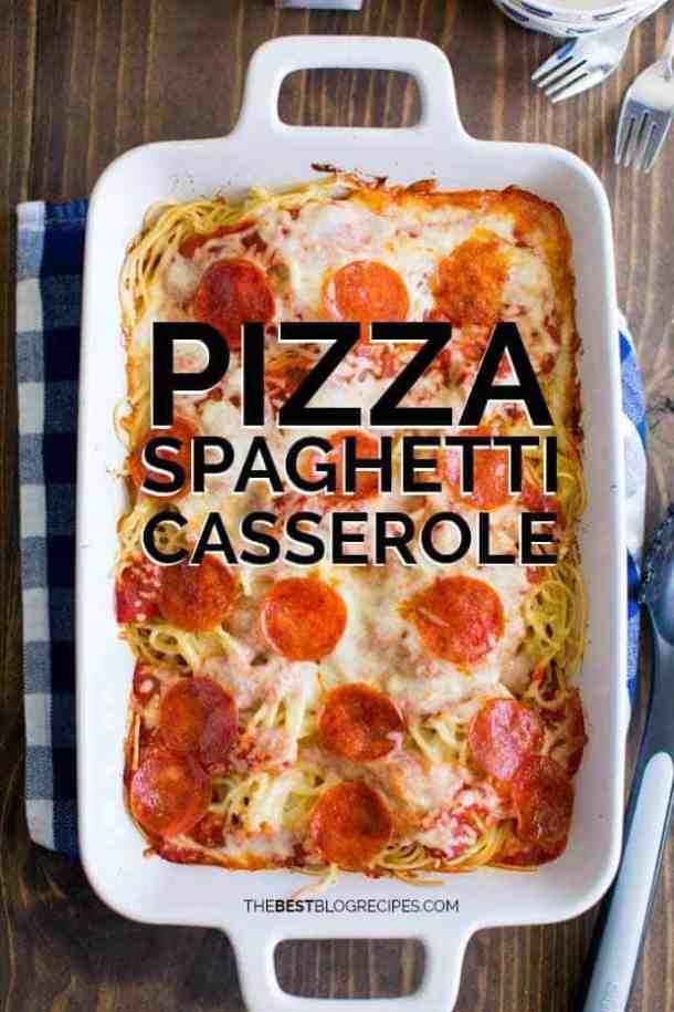 Pizza & Spaghetti Casserole