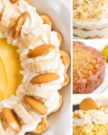 Hero Image for Banana Dessert Recipes