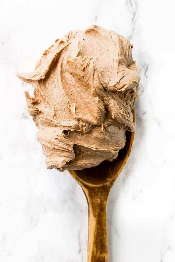 You will love this super easy and deliciously creamy Nutella Buttercream Frosting recipe! It's perfect for frosting or piping onto cakes, cupcakes, brownies, cookies, or whatever your heart desires! There's a dairy free and vegan option too!