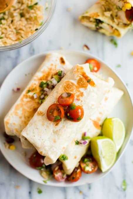 Best Chicken Burrito