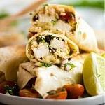 Best Ever Chicken Burrito
