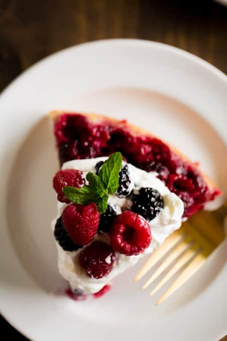 What is Berry Upside Down Cake