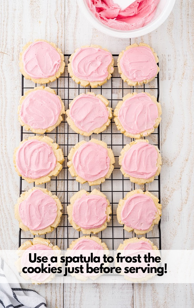 frosted swig cookies