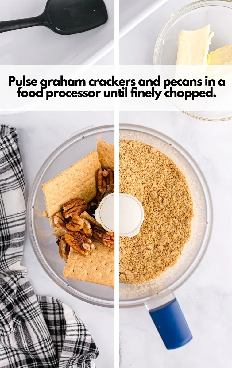 pulsed graham cracker and pecan
