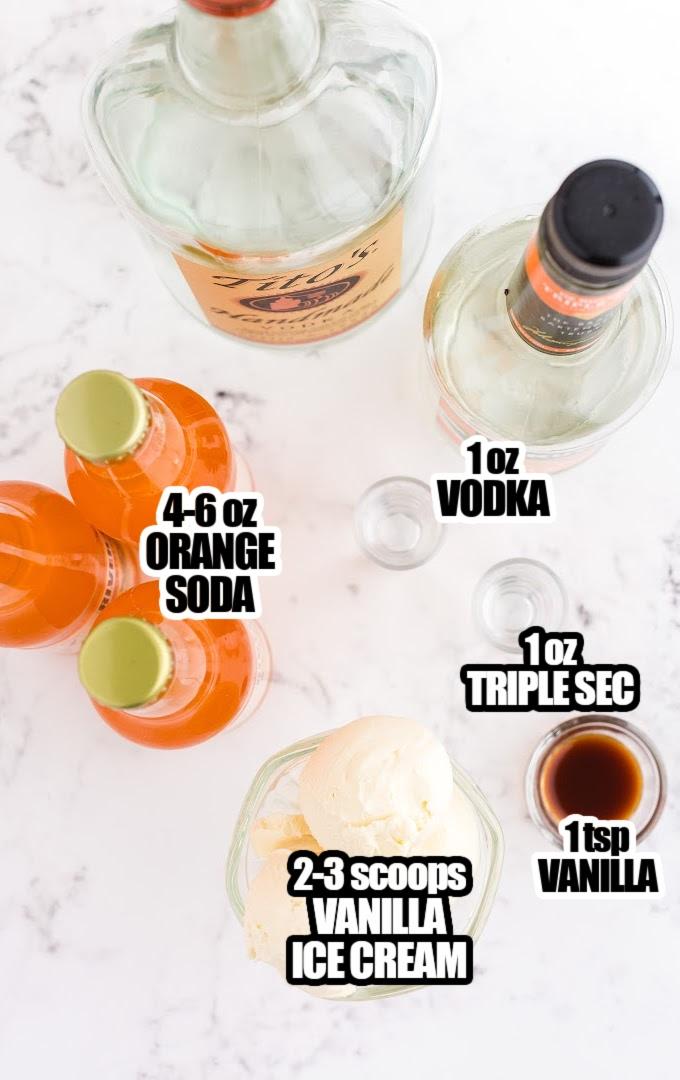 Creamsicle Cocktail Ingredients