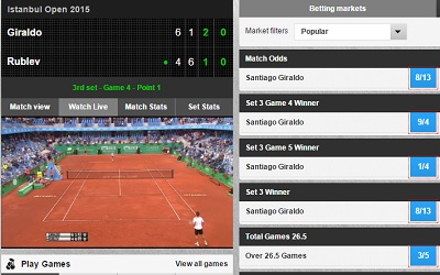 betfair tennis betting