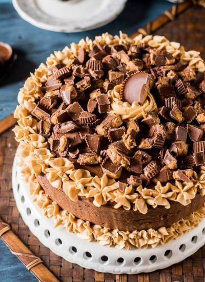 Reese's Layer cake