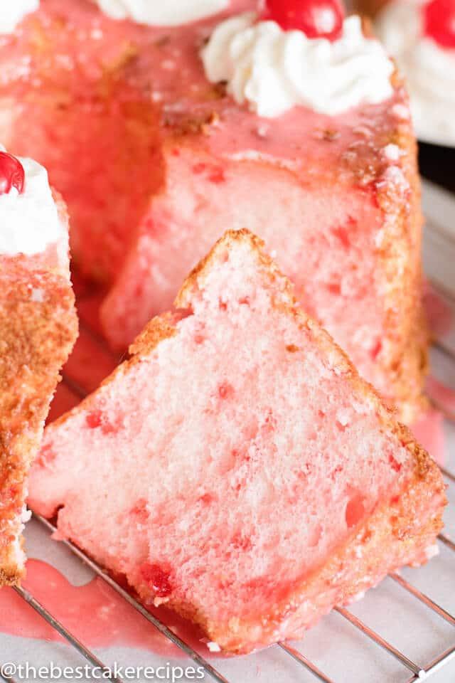 soft, fluffy angel food cake recipe