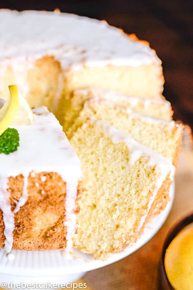 the best lemon chiffon cake
