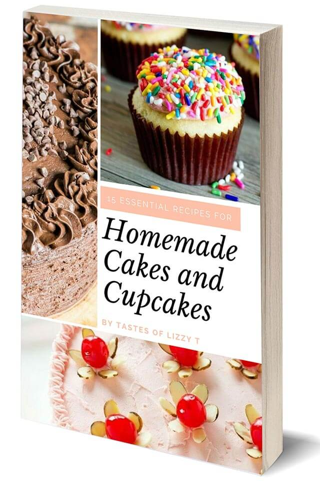 homemade cakes and cupcakes cookbook cover