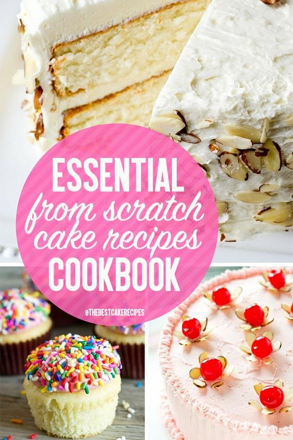 cake recipes cookbook title image
