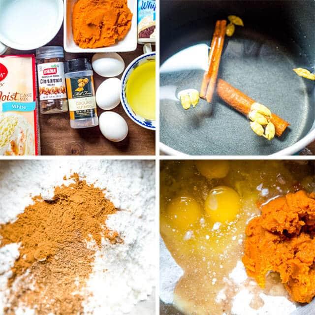 how to make pumpkin chai spice cake