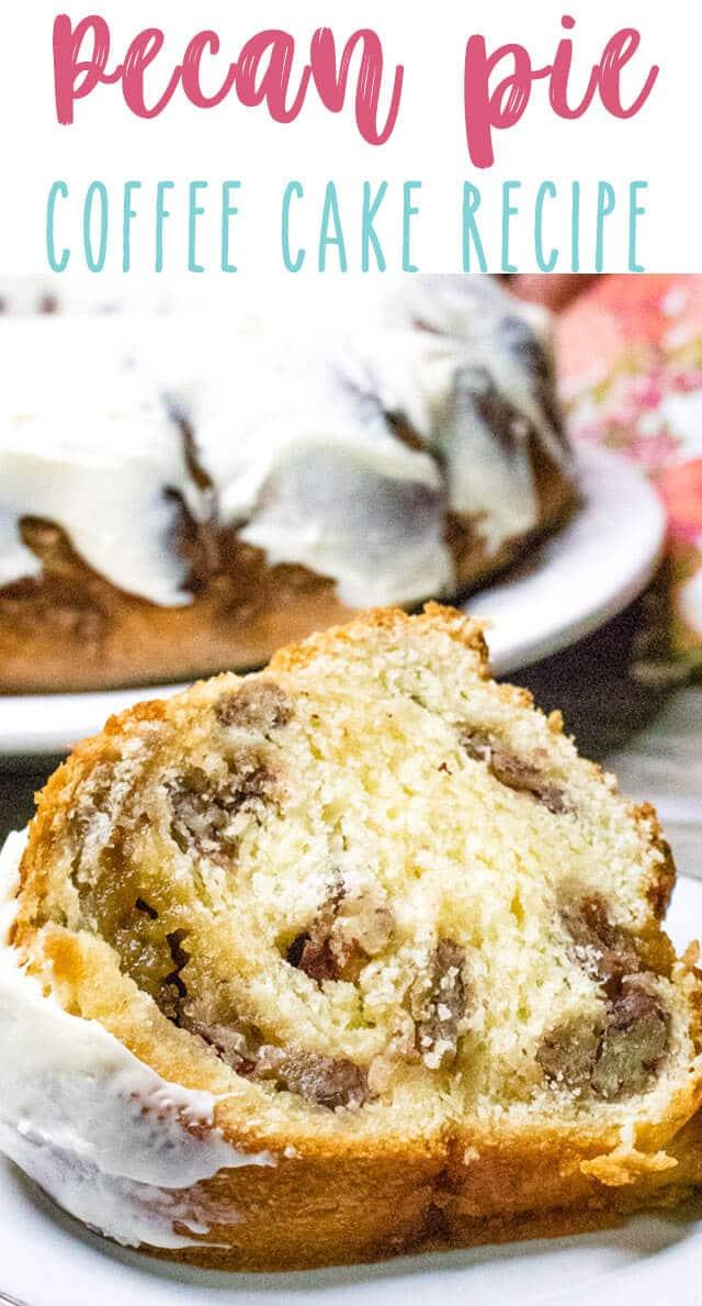 pecan pie coffee cake title image