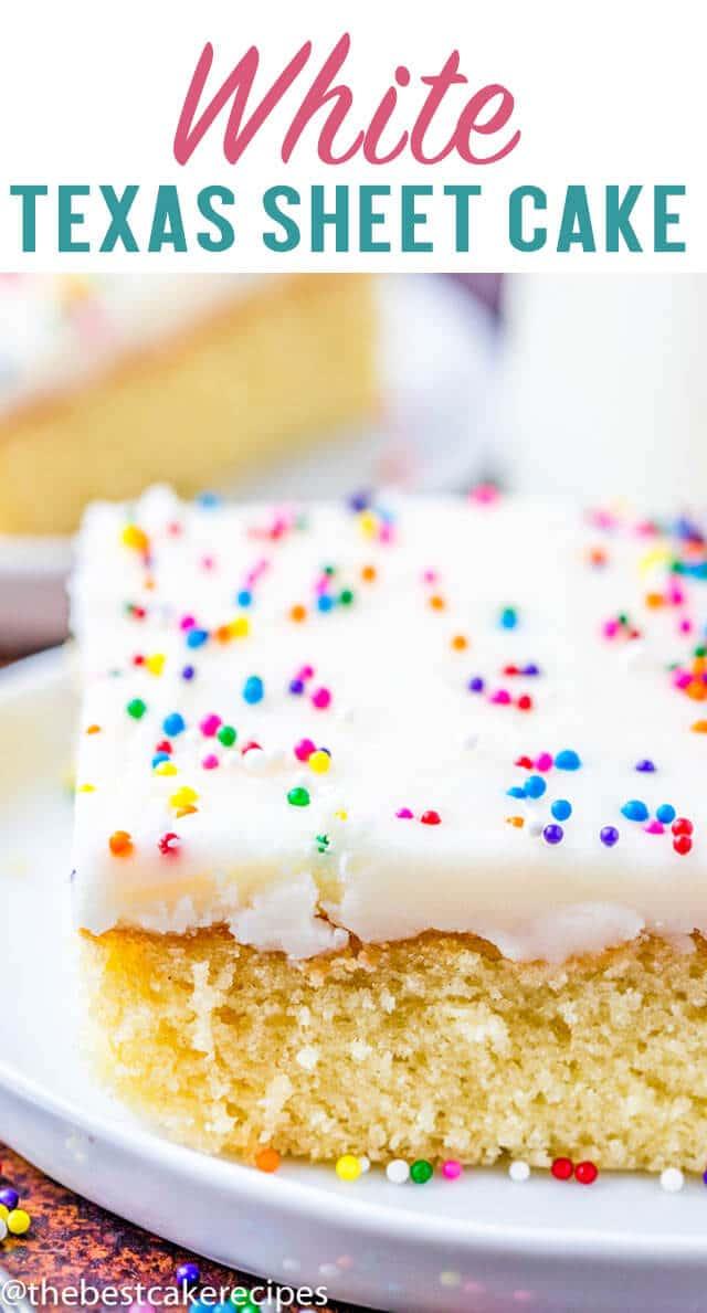 white texas sheet cake title image