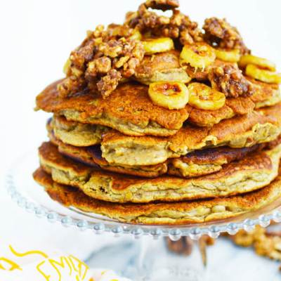 Banana Pancake Cake