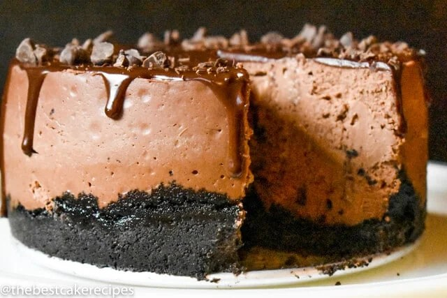 Instant Pot Chocolate Cheesecake Recipe With Oreo Crust