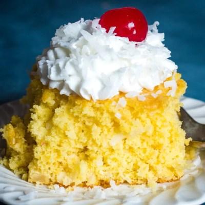 4 Ingredient Fruit Cake