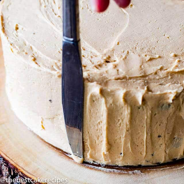 Peanut Butter Frosting techniques