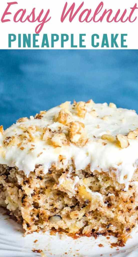 pineapple walnut cake title image