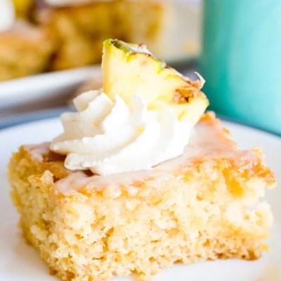 Glazed Pineapple Cake