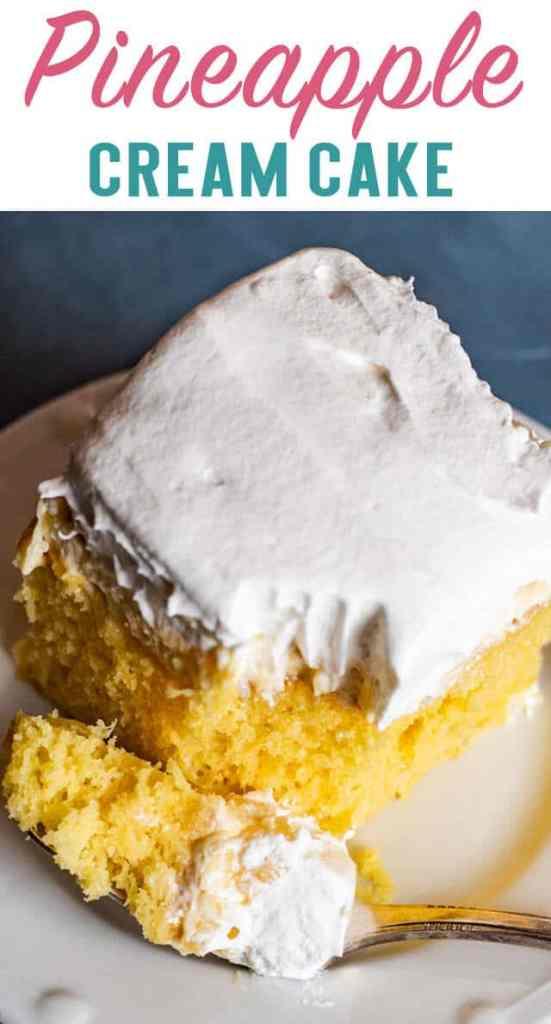 Pineapple Cream Cake title image