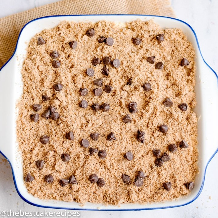 unbaked Chocolate Chip Coffee Cake