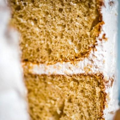 Cinnamon Layer Cake