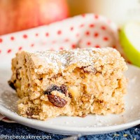 slice of Easy Applesauce Cake