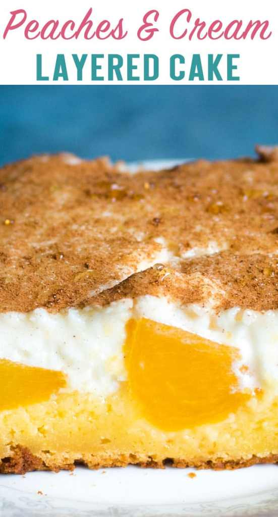 peaches and cream cake title image