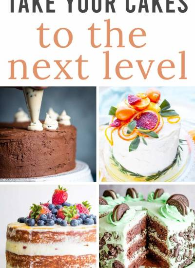 TAke your cakes to the next level