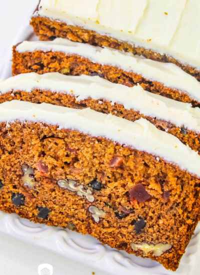 Fruit Cake Loaf with nuts and candied fruit