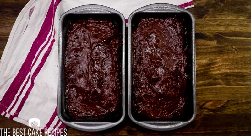 chocolate pound cake that makes 2 loaves