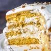 4 Layer Walnut Cake