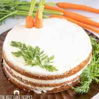 Carrot Cake Torte with ganache