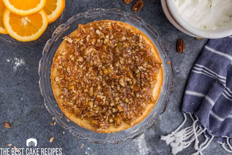 marmalade nut feeling on a layer cake