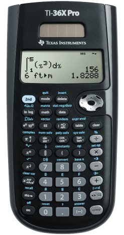 Texas Instruments TI-36X Pro Scientific Calculator that can also display multiple calculations at the exact same time