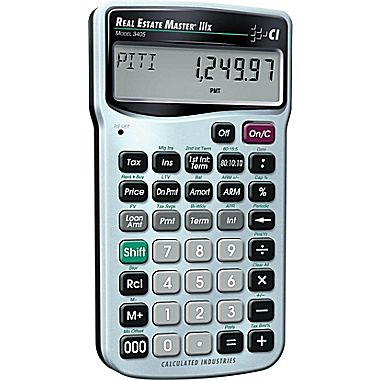 Calculated Industries 3405 Real Estate Master IIIX