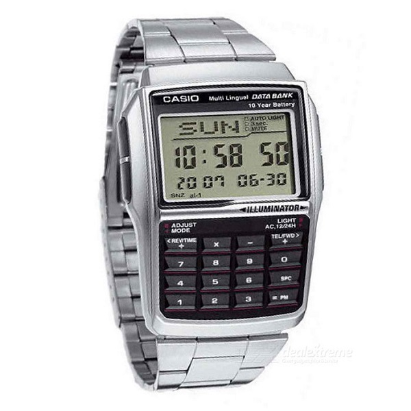 Casio Collection Databank LED Calculator Watch