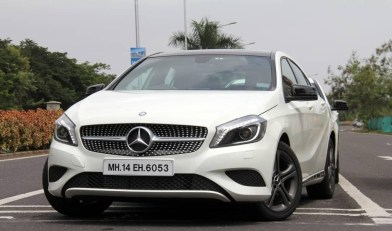 Mercedes AClass Edition1 - Front