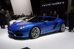 Lamborghini Asterion - notice the logo of Asterion
