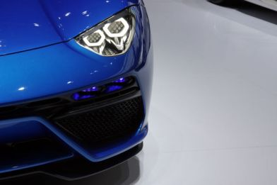 Lamborghini Asterion - right headlamp