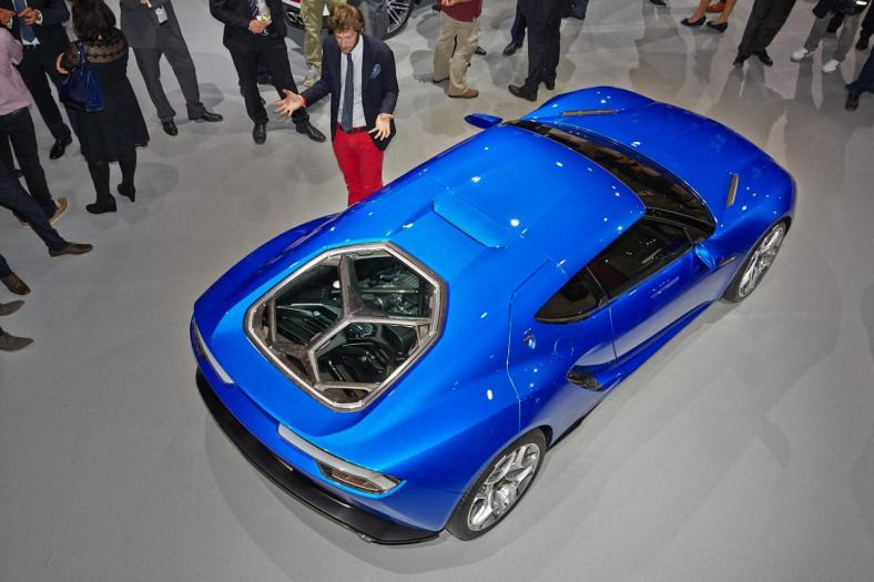Lamborghini Asterion - another angle from the top